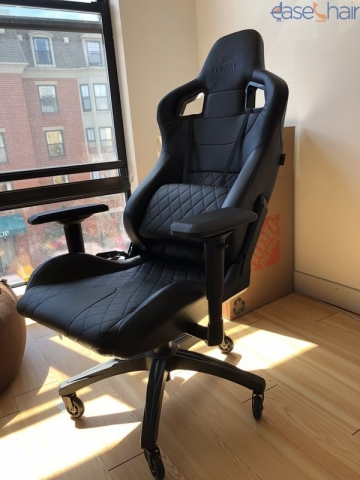Enjoyable Corsair Cf 9010011 Ww T1 Gaming Chair Review Lamtechconsult Wood Chair Design Ideas Lamtechconsultcom